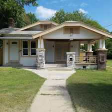 Rental info for 826 Erie Ave in the San Antonio area
