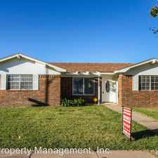 Rental info for 5608 Fordham St. in the Lubbock area