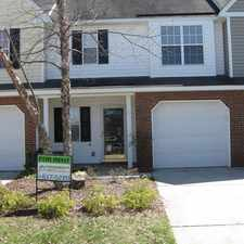 Rental info for 17 Pickwick Place in the Greensboro area