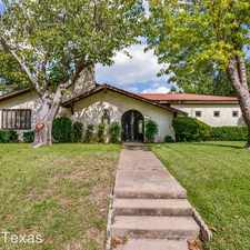 Rental info for 2804 Canyon Dr in the Grapevine area
