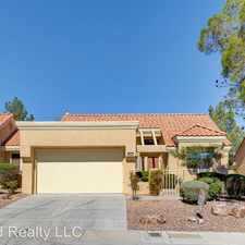 Rental info for 9432 Gold Mountain Ave in the Sun City Summerlin area