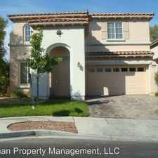 Rental info for 10296 Magnolia Tree Ave. in the Summerlin South area