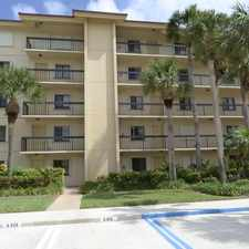 Rental info for 401 Ocean Boulevard #101 in the 33477 area