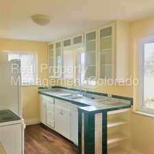 Rental info for Beautiful Ranch Home in Athmar Park! in the Athmar Park area