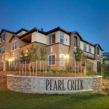 Rental info for Pearl Creek