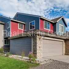 Rental info for 4 bed/3.75 bath that backs up to Village Place Park in Denver! in the Montbello area