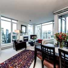 Rental info for 1188 West Pender Street in the West End area