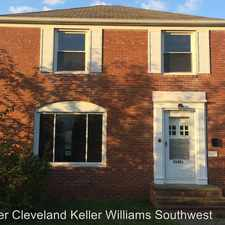 Rental info for 21451 Tracy Avenue in the 44123 area