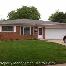 Rental info for 25714 Wexford in the 48091 area