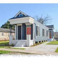 Rental info for 1911 Mandeville St. in the New Orleans area