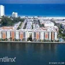 Rental info for 17100 N Bay Rd # 1613 in the Sunny Isles Beach area