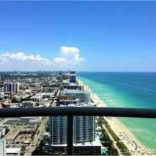 Rental info for 6365 COLLINS AVE 4409