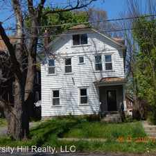 Rental info for 225 Lennox Place in the Syracuse area