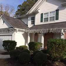 Rental info for 2626 McGuire Drive in the Kennesaw area