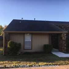 Rental info for 8214 N 116th E Ave in the Owasso area