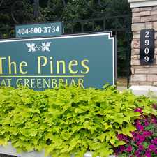 Rental info for Pines at Greenbriar in the Atlanta area