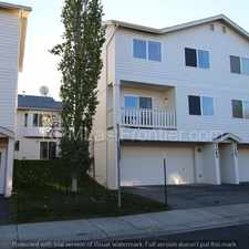 Rental info for 1/2 Off 1st Month! Awesome town home with huge 2 car garage!