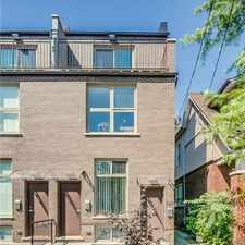 Rental info for 622 Coxwell Avenue in the Greenwood-Coxwell area