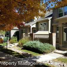 Rental info for 8007 E Ellsworth Ave in the Lowry Field area