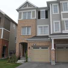 Rental info for 502 Coldwater Crescent in the Kanata South area