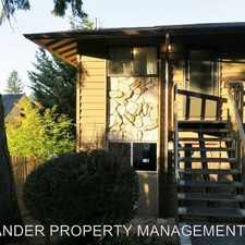 Rental info for 5005 SW MITCHELL ST #4 in the Bridlemile area