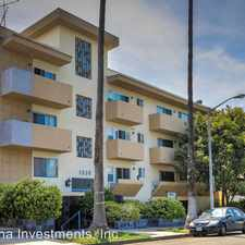 Rental info for 1030 N. Orange Grove Ave. - 204 in the Los Angeles area