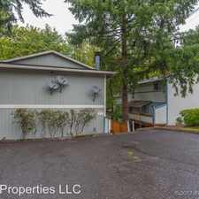 Rental info for 5011 SW Beaverton Hillsdale Hwy in the Bridlemile area