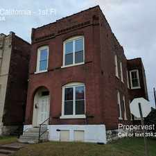 Rental info for 3001 California in the St. Louis area