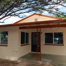 Rental info for 18 W. Laguna St. in the Tucson area