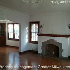Rental info for 2616-18 N 60th Street in the Milwaukee area