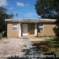 Rental info for 1607 NW 14th Court in the Fort Lauderdale area