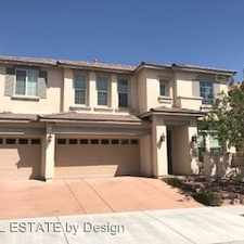 Rental info for 11620 Intervale Rd in the Summerlin South area