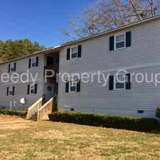 Rental info for New Year Special - First month FREE!! in the Easley area