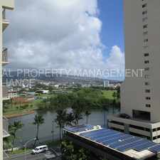 Rental info for Mountain Views From Furnished Waikiki Condo in the Honolulu area