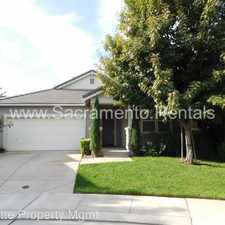 Rental info for 603 Watercolor Lane in the 95605 area