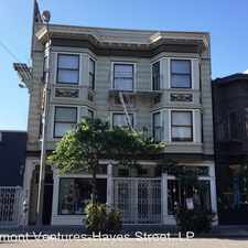 Rental info for 435 Hayes Street #32 in the Hayes Valley area
