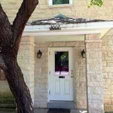 Rental info for 3007 Speedway #6 in the Austin area