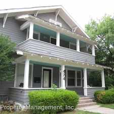 Rental info for 474 Elm Avenue Apt 1 in the Norman area