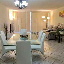 Rental info for $4800 2 bedroom Townhouse in Miami Beach in the Sunny Isles Beach area