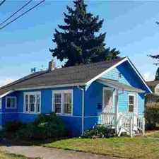 Rental info for 3567 E M St Tacoma, This cute little Three BR home with EZ