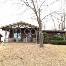 Rental info for FLORISSANT - OUR FIRST LOG CABIN! 3 BEDROOM / 2 BATH, SUPERB EXTERIOR AND INTERIOR, GREAT LIVING , DINING AND KITCHEN AREA, SPACIOUS LIVING SPACE, FULL BASEMENT, PLENTY OF UNIQUE FEATURES - 60 Mohan Dr. in the Florissant area