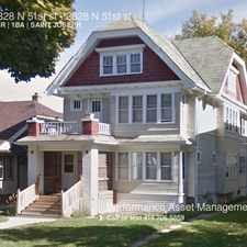 Rental info for 2828 N 51st st in the St. Joseph's area