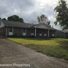 Rental info for 2316 Bower Dr. in the Florence area
