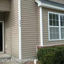 Rental info for 244 Brookshire Road in the Goose Creek area
