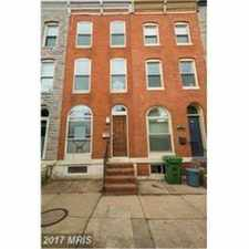 Rental info for 1426 South Charles Street in the SBIC - West Federal Hill area