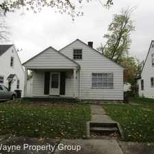 Rental info for 4525 Wilmette in the Fort Wayne area