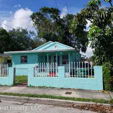 Rental info for 6810 NW 5th PL in the Model City area
