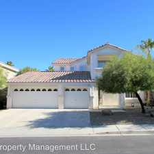 Rental info for 1332 Dream Valley St in the Seven Hills area