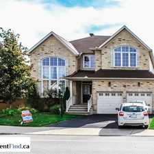 Rental info for 763 Kilbirnie Drive in the Barrhaven area