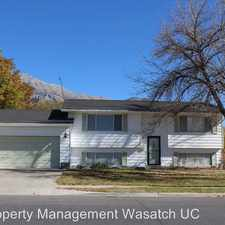 Rental info for 1080 N 100 W in the Pleasant Grove area